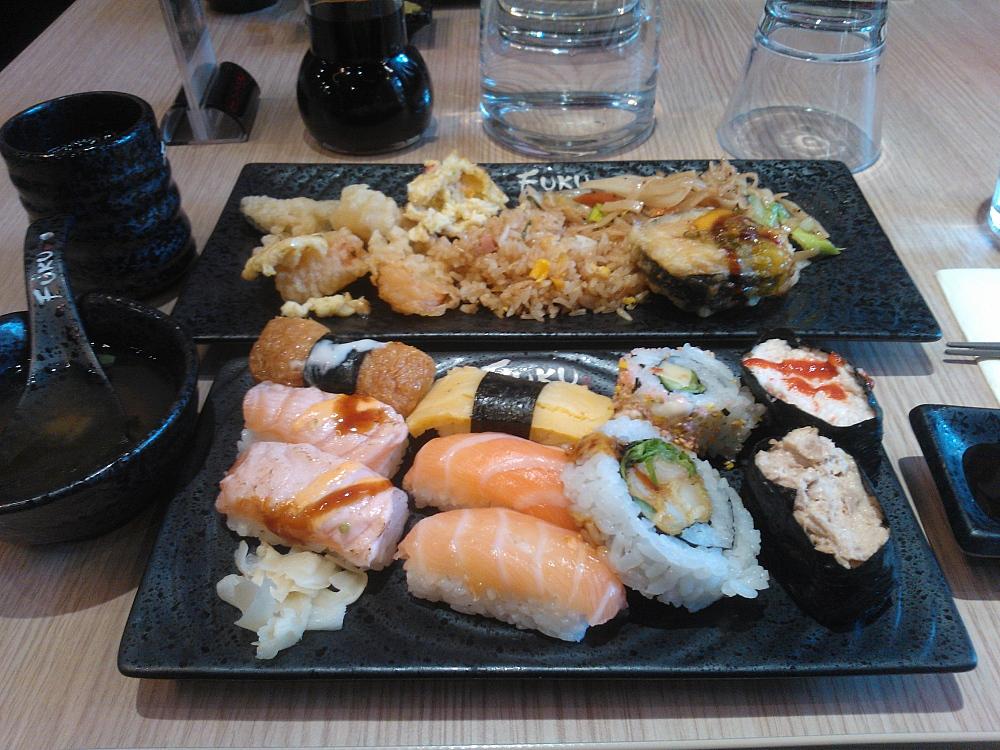 Fuku Espoo Sello Sushi 寿司バイキング エスポー フィンランド