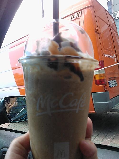 Mocha flappe McDonald マック フラッペ フィンランド