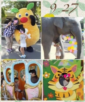 140927_祖父母と動物園clg