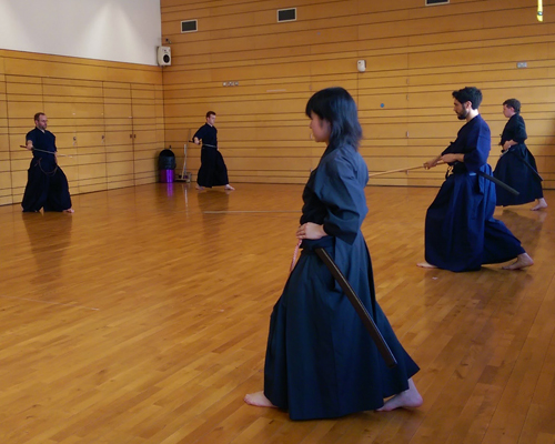 last iaido training1