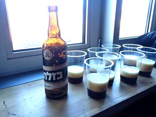 beer made in Israel