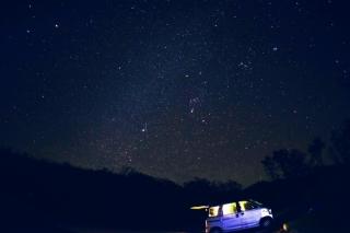 枝折峠の星空。