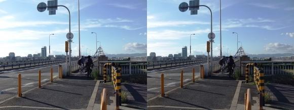 長柄橋(交差法)