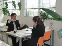 インタビュー風景(3)