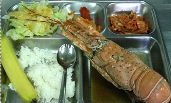 韓国の給食が美味そうwwwwwww