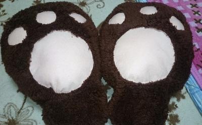ユリ熊嵐の百合ヶ咲るるのコスプレ衣装製作画像②