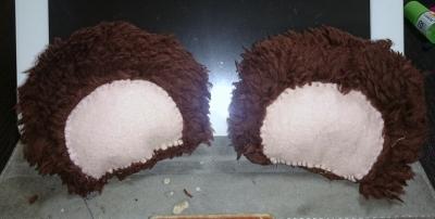 ユリ熊嵐の百合ヶ咲るるのコスプレ衣装製作画像③