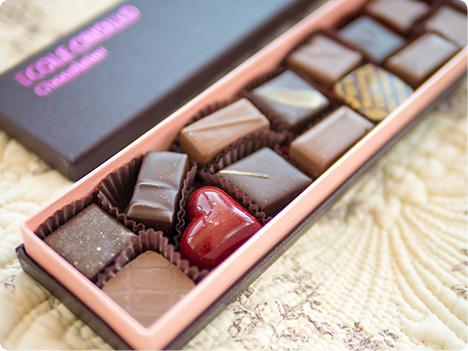 エコール・クリオロのチョコレート