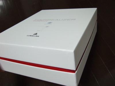 ヘアビューザー2 箱 側面