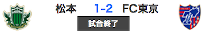 607松本1-2東京