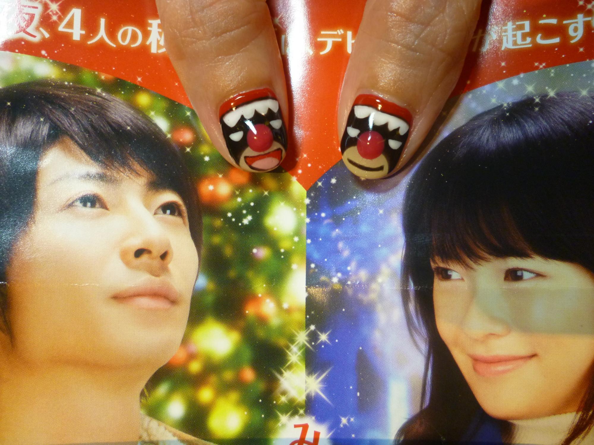 2014ネイルデザイン MIRACLEデビクロくんの恋と魔法ネイル デビクロくんネイル