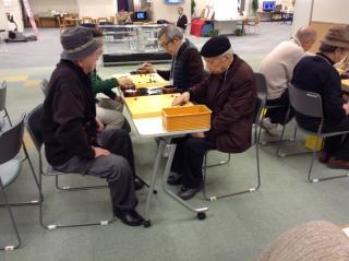 高齢者(93歳と86歳)の対局