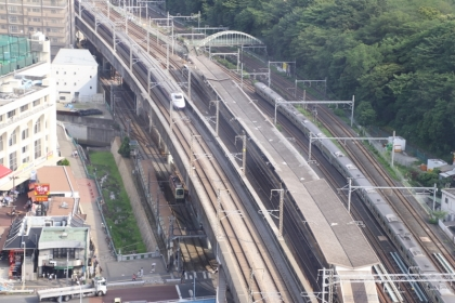 都電 新幹線 在来線