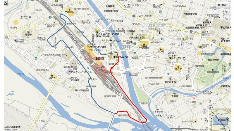 昔の盛岡駅周辺経路 (800x450)