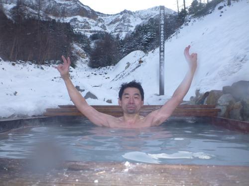 本沢温泉露天風呂