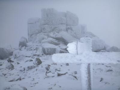 冬の五丈岩(3)