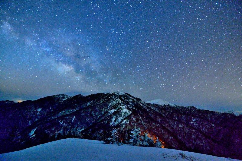 満天の星   (徳島県剣山)