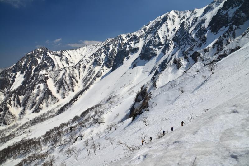 「大山冬登山」  (鳥取県大山)