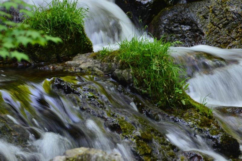 「神庭の滝2」 (岡山県真庭市)