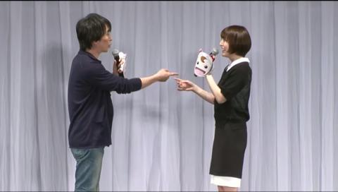 『PSYCHO-PASS サイコパス』ステージ 【AnimeJapan 2015】 ~サイコな彼女のパンチラ in AJ~★生中継★