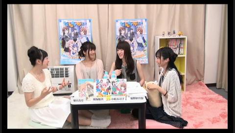 【エンタメ画像】本当に弟がいる女性声優に4人よるアニメのニコ生番組wwwww