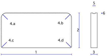 ファスナー型寸法指定改