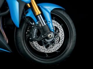 GSX-S1000 ブレーキ