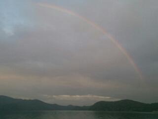 20150529 夕方の虹1