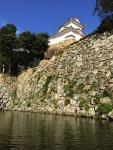お堀からの姫路城