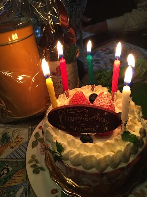 11:8文男ケーキ