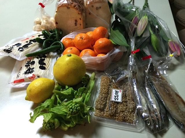 四国お土産野菜魚