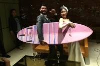 サーフボード2人