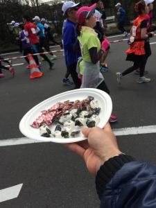 横浜マラソン応援