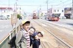 函館市電待ち