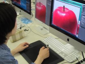 Photoshopリンゴ