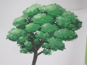 アニメ背景樹木1