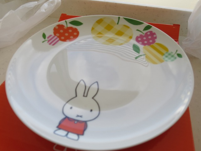 チーズケーキミッフィ皿 (9)