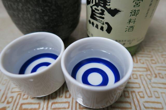 白鷹 特別純米酒 伊勢神宮御料酒 (6)