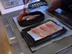 お魚焼き比べ 準備
