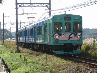 伊賀鉄道 200系 忍者列車