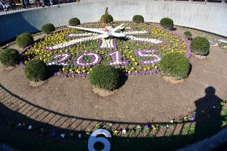 岡崎公園 花時計