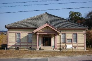旧日清紡針崎工場竜城学園講堂(旧愛知県立第二中学校講堂)
