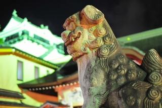 龍城神社 狛犬