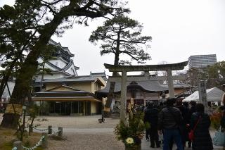 岡崎公園 龍城神社