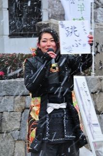 グレート家康公「葵」武将隊 小松姫