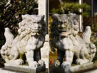 田之社 狛犬