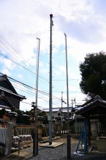 八釼社 ホース乾燥塔