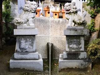 津島神社の狛犬
