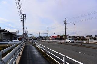 あま愛西線 福田川