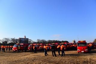 平成27年 岡崎市消防出初式 消防団車輛